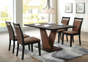 Beautiful kitchen table with chairs new for Sale in Chicago, IL