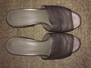 VINCE Women's Karissa Heeled Sandal Bronze for Sale in Chula Vista, CA