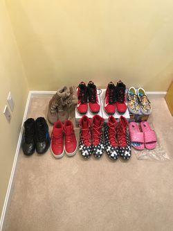 Shoe Sneaker Lot - Nike, Jordan, Adidas, Cleats, Boots for Sale in Burke,  VA