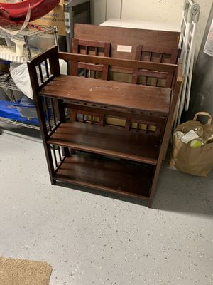 Two Folding Bookshelves for Sale in Kirkland, WA