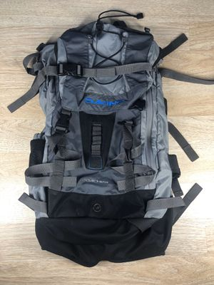 Dakine Special Backpack hiking Camping Snowboard Backpack 60L Grey/blue for Sale in San Leandro, CA