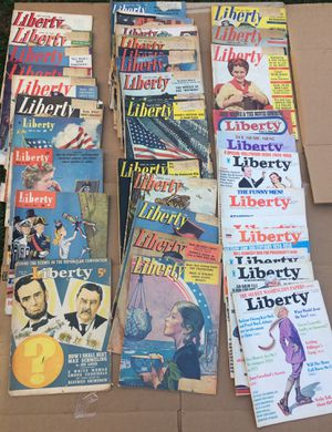1936-1974 Liberty Magazines Lot of 35 for Sale in WA, US