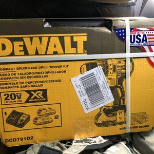 DeWalt brushless Drill/driver kit for Sale in Modesto, CA