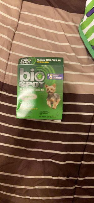 Small dog flea and tick color for Sale in Midland, TX