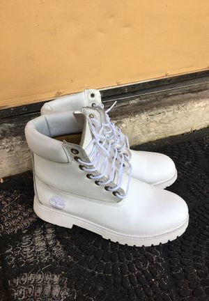 White Timberland Size 8 for Sale in Coral Springs, FL