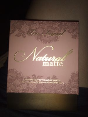 Toofaced natural matte palette for Sale in Wenatchee, WA