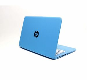 "HP Stream Notebook 14-ax010ca with 14"" Screen, Celeron N @ 1.6GHz, 4GB RAM, 32GB eMMC storage, in blue (Cosmetic Wear Visible) for Sale in Irving, TX"