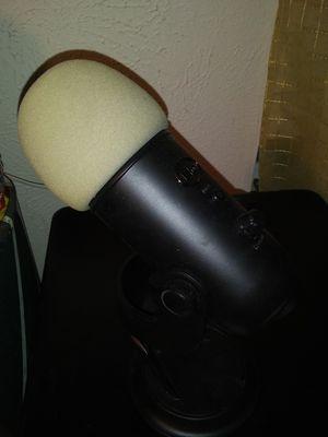Blue yeti media microphone for Sale in Dallas, TX