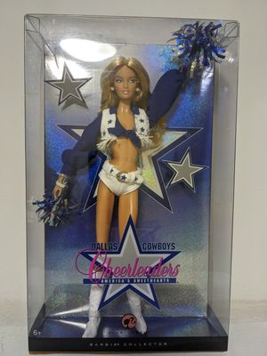 Dallas Cowboys Blonde Cheerleader 2007 Barbie Collector Edition for Sale in IL, US