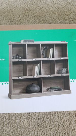 book shelves from sauder brand new never opened for Sale in Clinton Township, MI