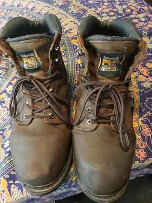 Men's Timberland Work Boots 12 W for Sale in Everett, WA