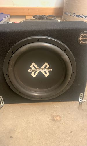 "Brand new Crossfire 10"" C5 subwoofer made in USA for Sale in Denver, CO"