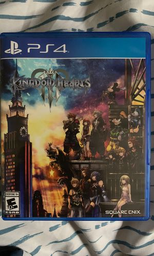 Kingdom Hearts 3 new PS4 for Sale in New Britain, CT