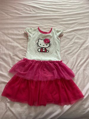 Hello Kitty Kids Dress Size 5T for Sale in Industry, CA