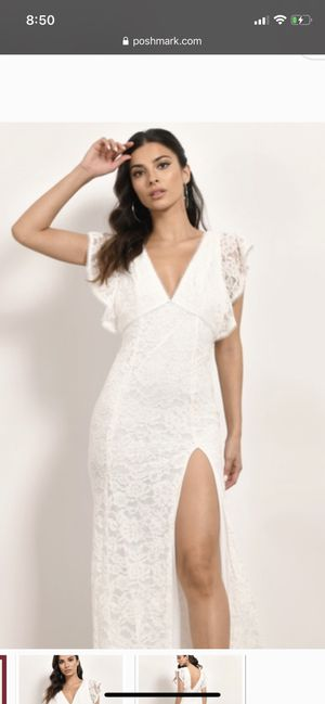 White dress - tobi - size 4 for Sale in Scottsdale, AZ