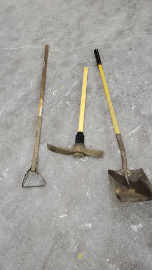 Shovel pick axe and hoe for Sale in Marysville, WA