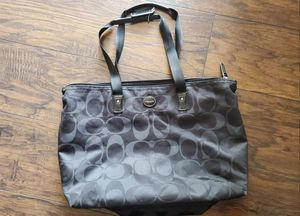 Black coach tote for Sale in Pittsburgh, PA