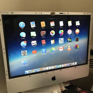 iMac 24 with no cover glass for Sale in Brooklyn, NY