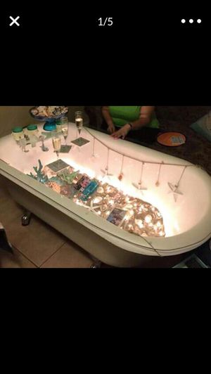 Antique claw tub/coffee table for Sale in Orange Cove, CA