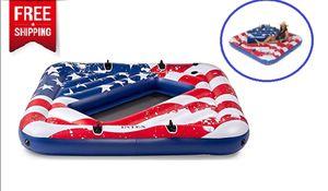 Oasis Lounge Raft Lake Pool Water River W/Cup Holders for Sale in Los Angeles, CA