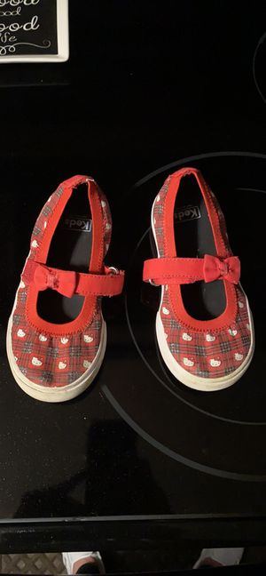 Toddler hello kitty keds size 10 for Sale in St. Peters, MO