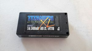 Trinity titanium 3400mah 80c lcg shorty lip battery for Sale in Kennewick, WA