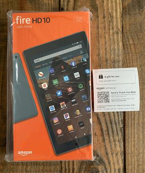 "New/Sealed 10"" Amazon Fire HD Tablet (Newest Gen), 1 Yr Warranty, Gift Receipt for Sale in Lakeville, MN"