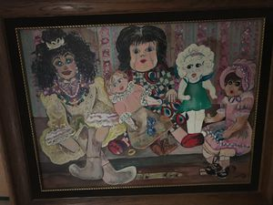 Doll canvas for Sale in Darrington, WA