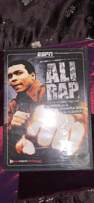 Ali Rap DVD new and sealed for Sale in Lock Haven, PA