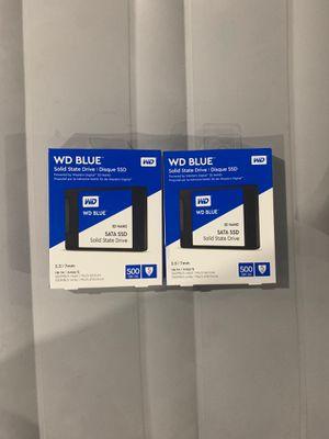 WD Blue 3D NAND 500GB for Sale in Warren, MI