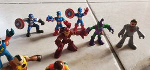 Playskool superheros , captain america ironman and more for Sale in Phoenix, AZ
