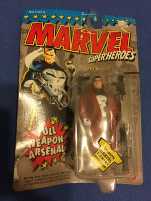 Punisher toy biz action figure 1994 for Sale in Fresno, CA