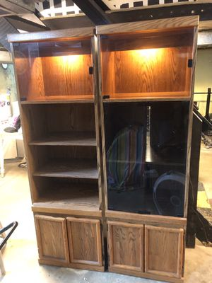 Entertainment cabinets for Sale in Cincinnati, OH