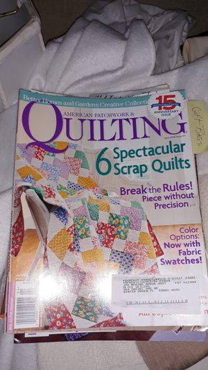 Lot of 20 Better Homes And Gardens Ameeican Patchwork And Quilting Magazines for Sale in Winter Haven, FL