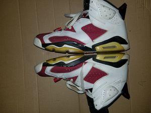 "Size 10 - Jordan 6 ""Carmines"" for Sale in Rockville, MD"