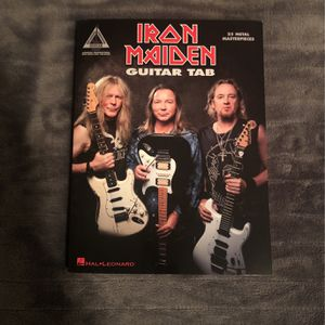 Iron Maiden Guitar Tab Book for Sale in Tacoma, WA