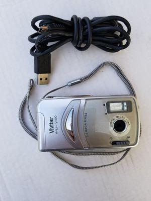 """Vivitar Vivicam Camera 5100 W/4x Digital Zoom, 5.0 Mp, 1.5"""" Lcd ( AA batterys not included) for Sale in Pomona, CA"""