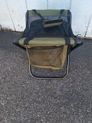 Collapsible chair stool camping fishing sports for Sale in Everett, WA