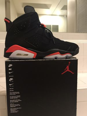 Infrared 6 Jordan retro 2019 release size 9.5 for Sale in Silver Spring, MD