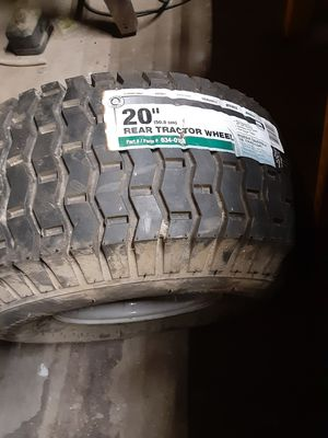 2 rear tractor tires for Sale in Modesto, CA