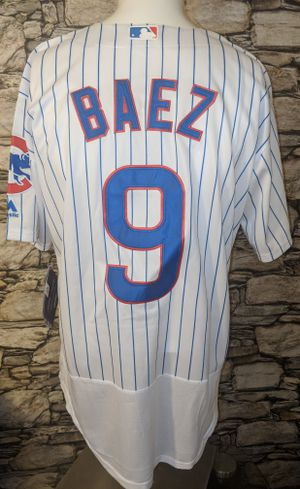 ⚾ Brand New!! Javier Baez #9 Chicago Cubs Jersey XL for Sale in Fort Myers, FL