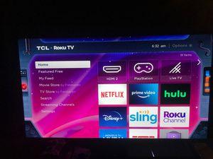 TCL 40in Roku Smart TV for Sale in Detroit, MI