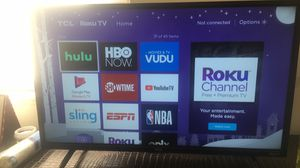 Roku TCL tv for Sale in Rosedale, MD