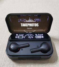 (B19)Bluetooth Earphone True Wireless Earbuds headset Mini Earphones Waterproof Headphone for Sale in Rowland Heights,  CA