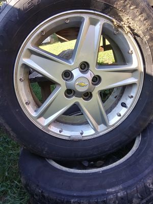 "Two. 17"" Chevy wheels for Sale in Cumberland, VA"
