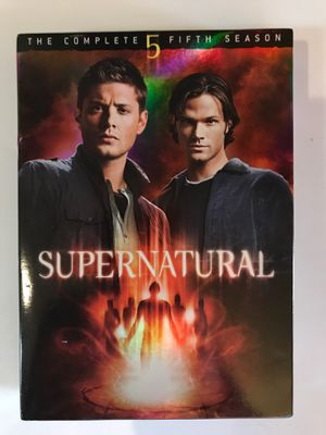 Supernatural season 5 on DVD for Sale in Yuma, AZ