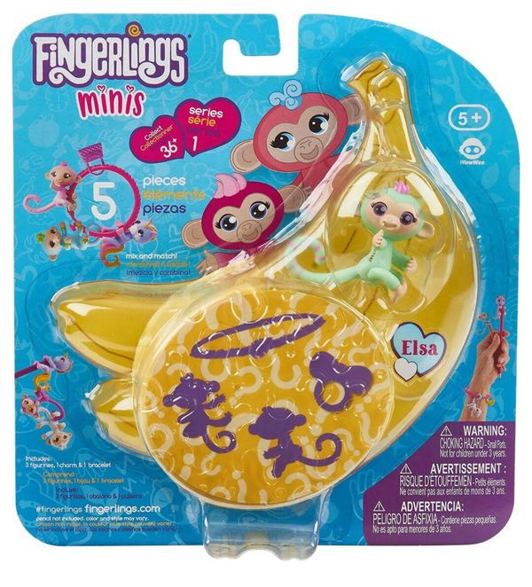 FINGERINGS MINIS. 5 PIECES. Brand New