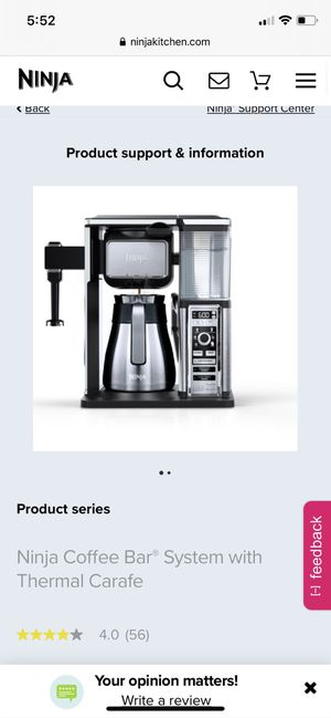 Ninja coffee maker-like new for Sale in Fairfax, VA