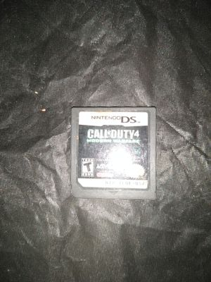 Call of duty4 Nintendo DS for Sale in Los Angeles, CA
