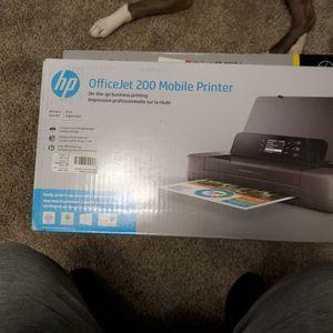 OfficeJet 200 Mobile Printer for Sale in Menomonie, WI